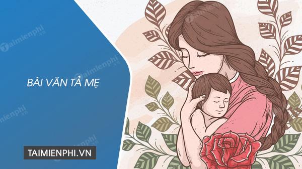 Bài văn tả mẹ