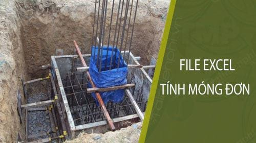 file excel tinh mong don