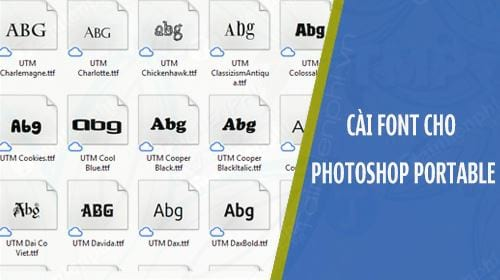 How to install portable fonts for photoshop portable