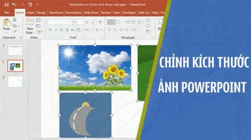 cach chinh kich thuoc anh powerpoint