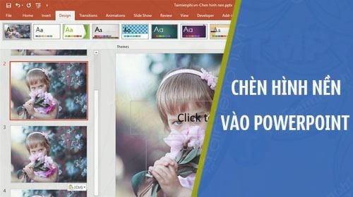 cach chen hinh nen vao powerpoint chen background
