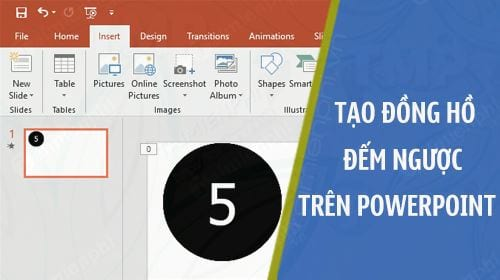 cach tao dong ho dem nguoc tren powerpoint