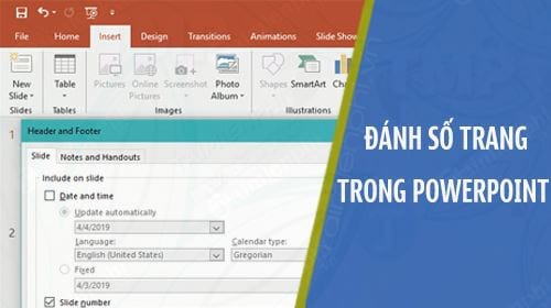 cach danh so trang trong powerpoint