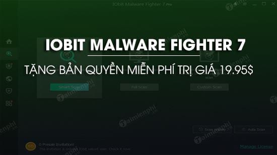giveaway dang ky ban quyen iobit malware fighter 7 diet malware bao ve may tinh