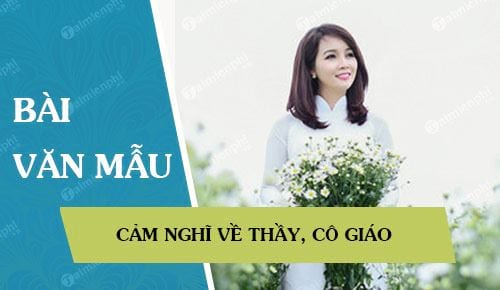 cam nghi ve thay co giao