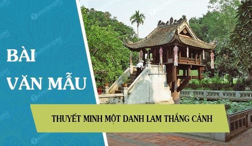 thuyet minh mot danh lam thang canh