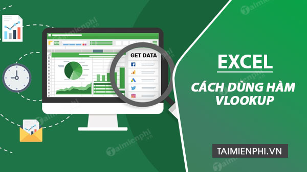 cach dung ham vlookup trong excel