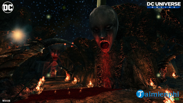buoc chan vao the gioi tuyet voi trong game dc universe online