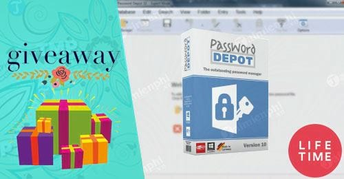 giveaway ban quyen mien phi password depot 10