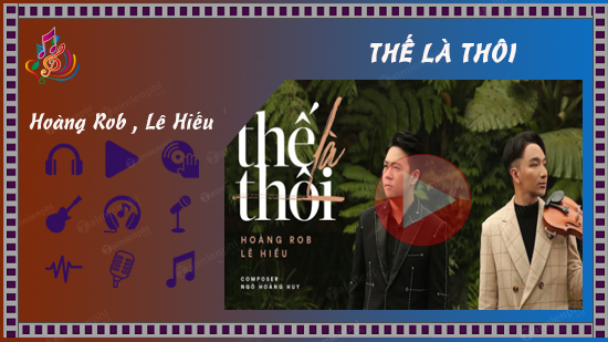 loi bai hat the la thoi