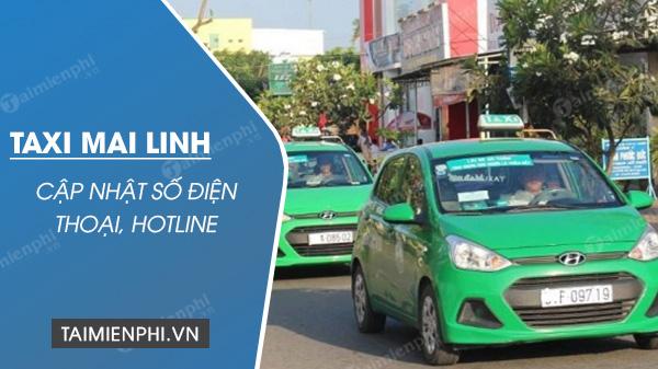Tổng đài Taxi Mai Linh, SĐT hotline