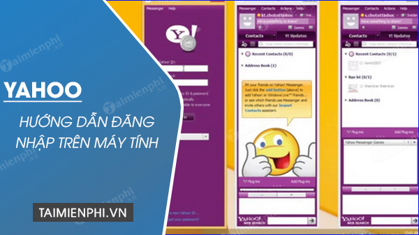 Huong dan sign in Yahoo