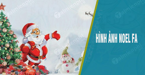 hinh anh noel fa giang sinh co don