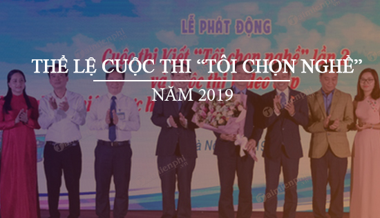 the le cuoc thi toi chon nghe nam 2019