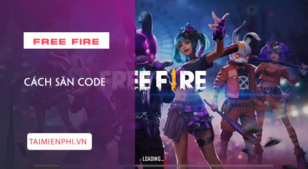 cach san giftcode garena free fire