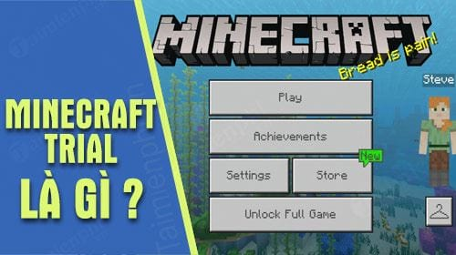 minecraft trial la gi co gi khac voi ban minecraft