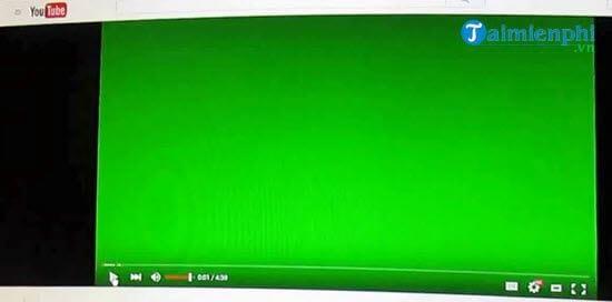 sua loi man hinh xanh luc khi phat video youtube