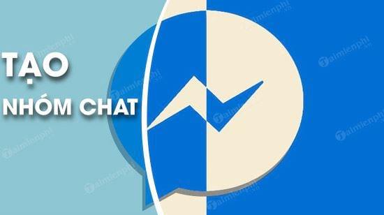 Cách tạo nhóm chat Facebook Messenger trên máy tính 0
