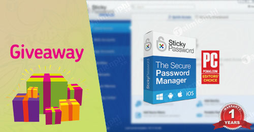 giveaway sticky password