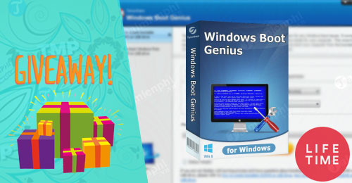 giveaway windows boot genius