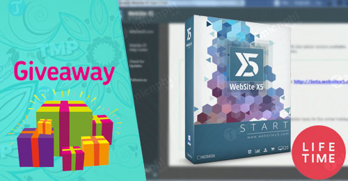 giveaway ban quyen mien phi website x5 start 14