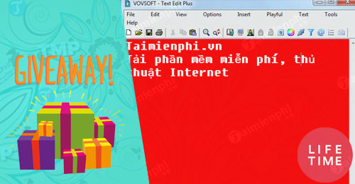 giveaway ban quyen mien phi text edit plus